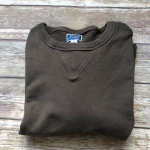 Men's JCrew 100% cotton Knit Works sweatshirt